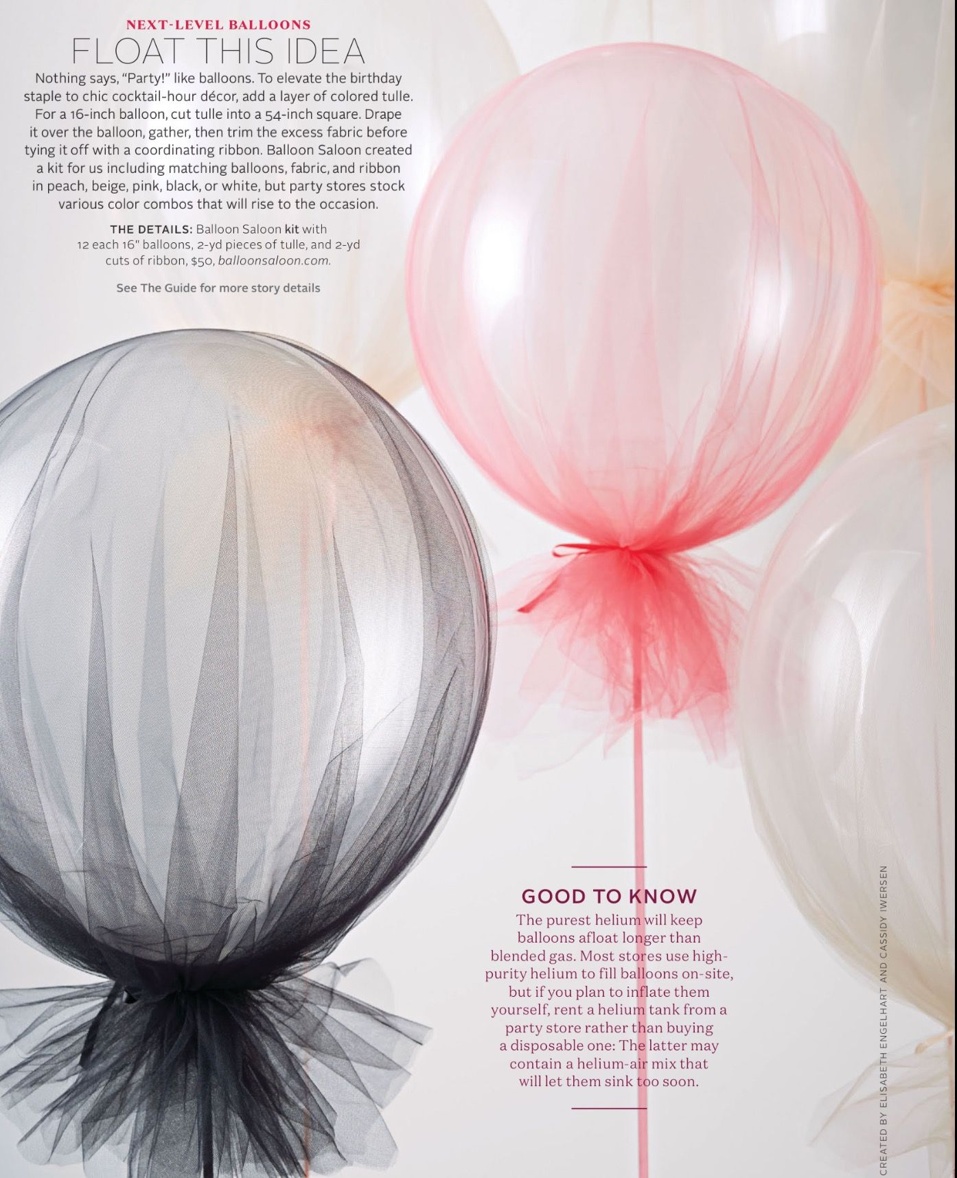 Helium Balloons With Silver Tulle Tied Over Balloons Helium Balloons Bridal Shower Decorations
