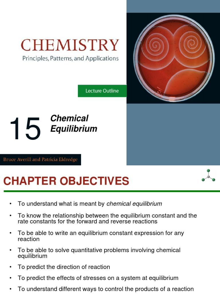 Chemical Equilibrium Equilibrium Chemical Chemical Reactions