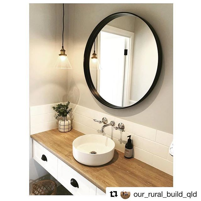 Repost Our Rural Build Qld Get Powder Room That Is The Fancy Name