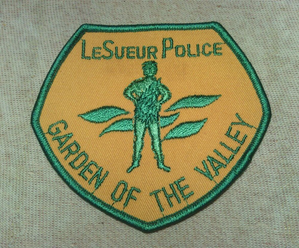 MN Le Sueur Minnesota Police Patch (Jolly Green Giant) (MN