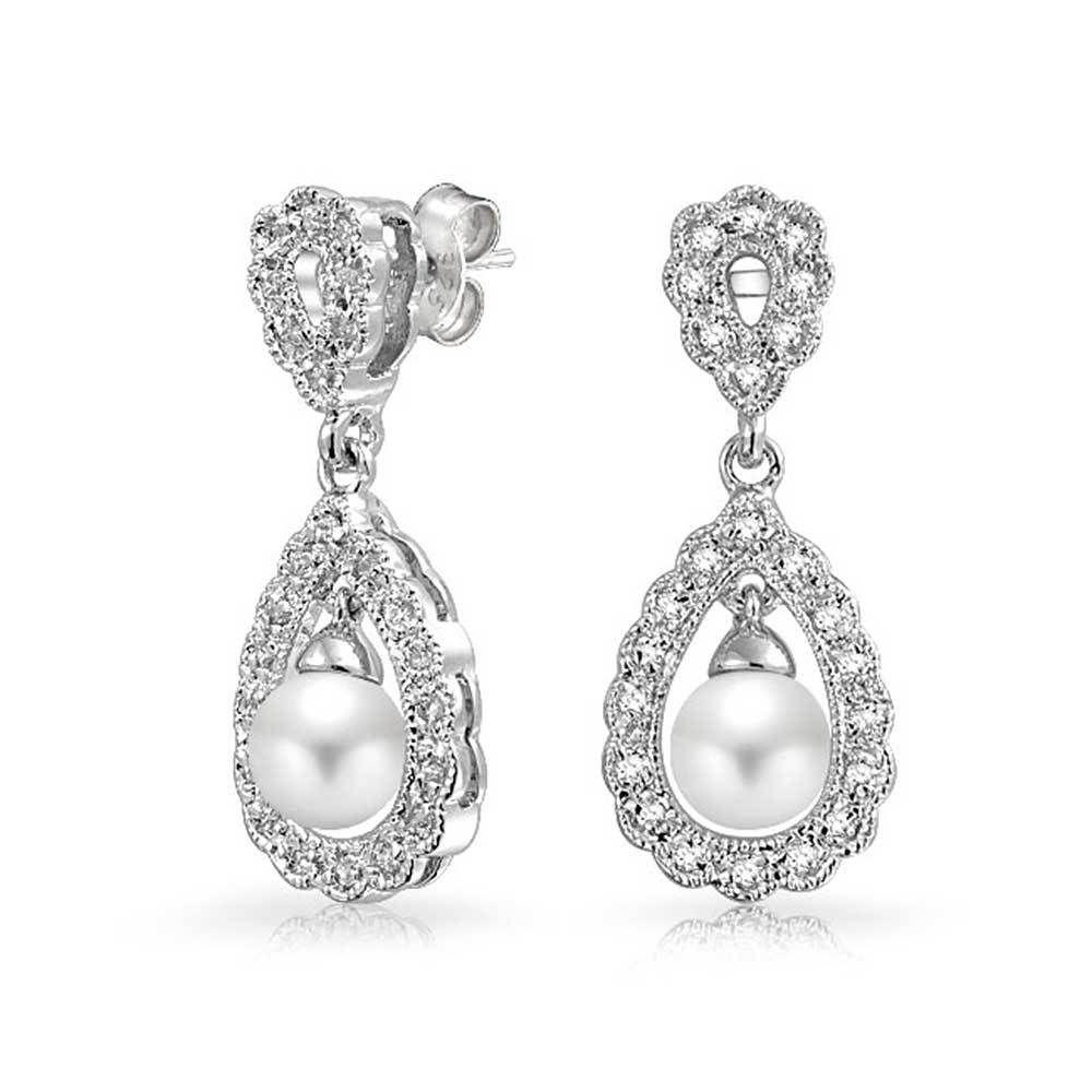 31+ Wedding earrings gold pearl information