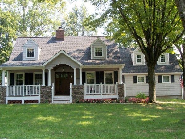 Delightful House · Exterior Exterior House Design Small Front Yard Landscaping Ideas  Classy Front Porch ...