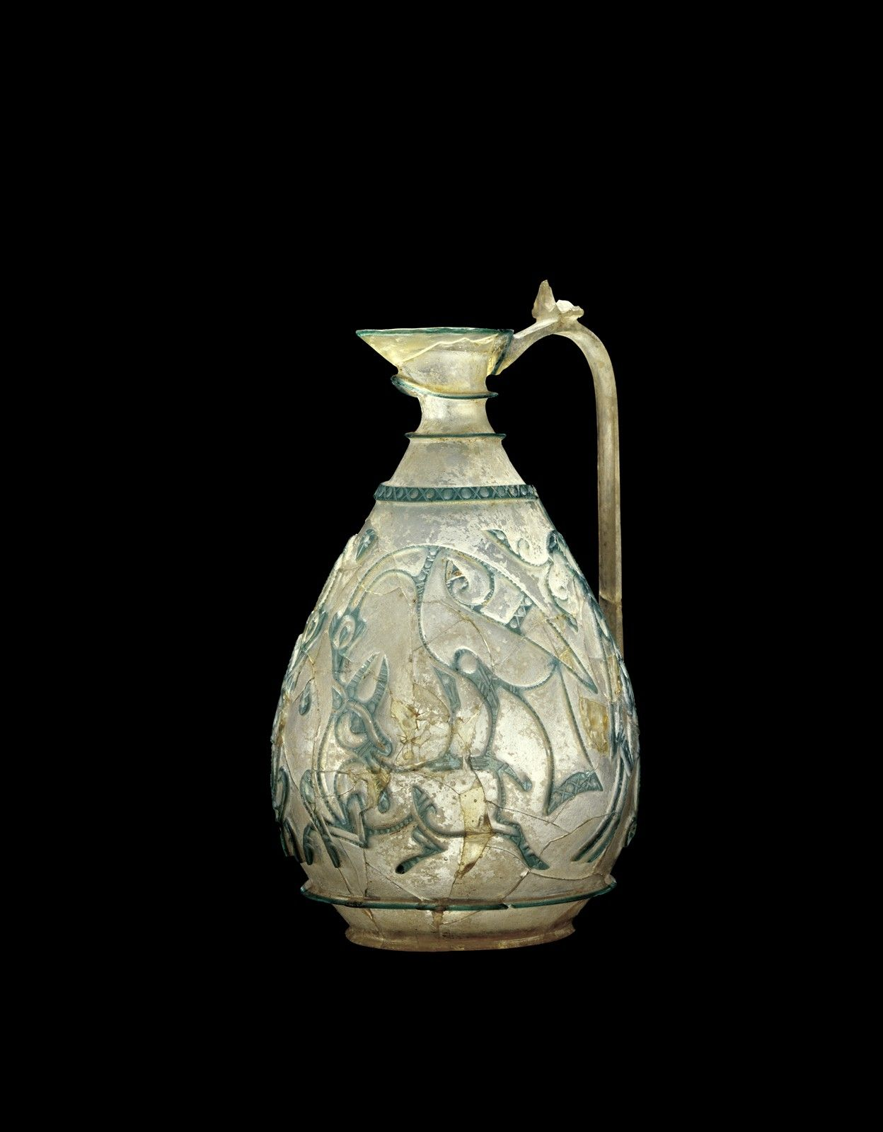 The Corning Ewer, possibly Egypt, possibly Western Asia