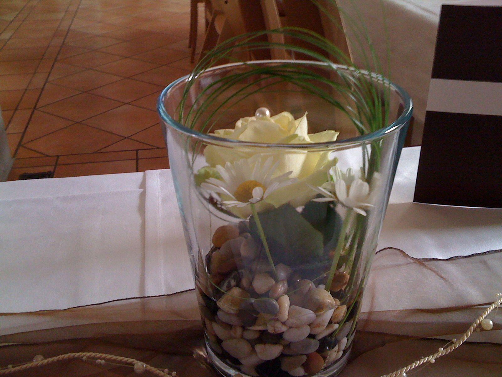 Tischdeko mit Rosen Dekoration Hochzeiten