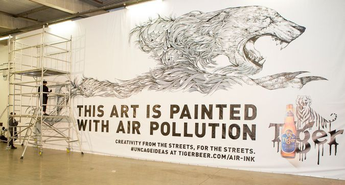"""Mashable on Twitter: """"This art exhibition uses ink made from poisoned air to send a powerful message https://t.co/zafBQQq4TQ https://t.co/7agp6vrX4x"""" https://twitter.com/mashable/status/847409755295326214?s=09&utm_campaign=crowdfire&utm_content=crowdfire&utm_medium=social&utm_source=pinterest"""