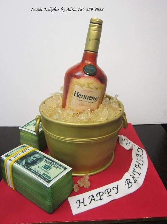 11 cake For Men alcohol ideas