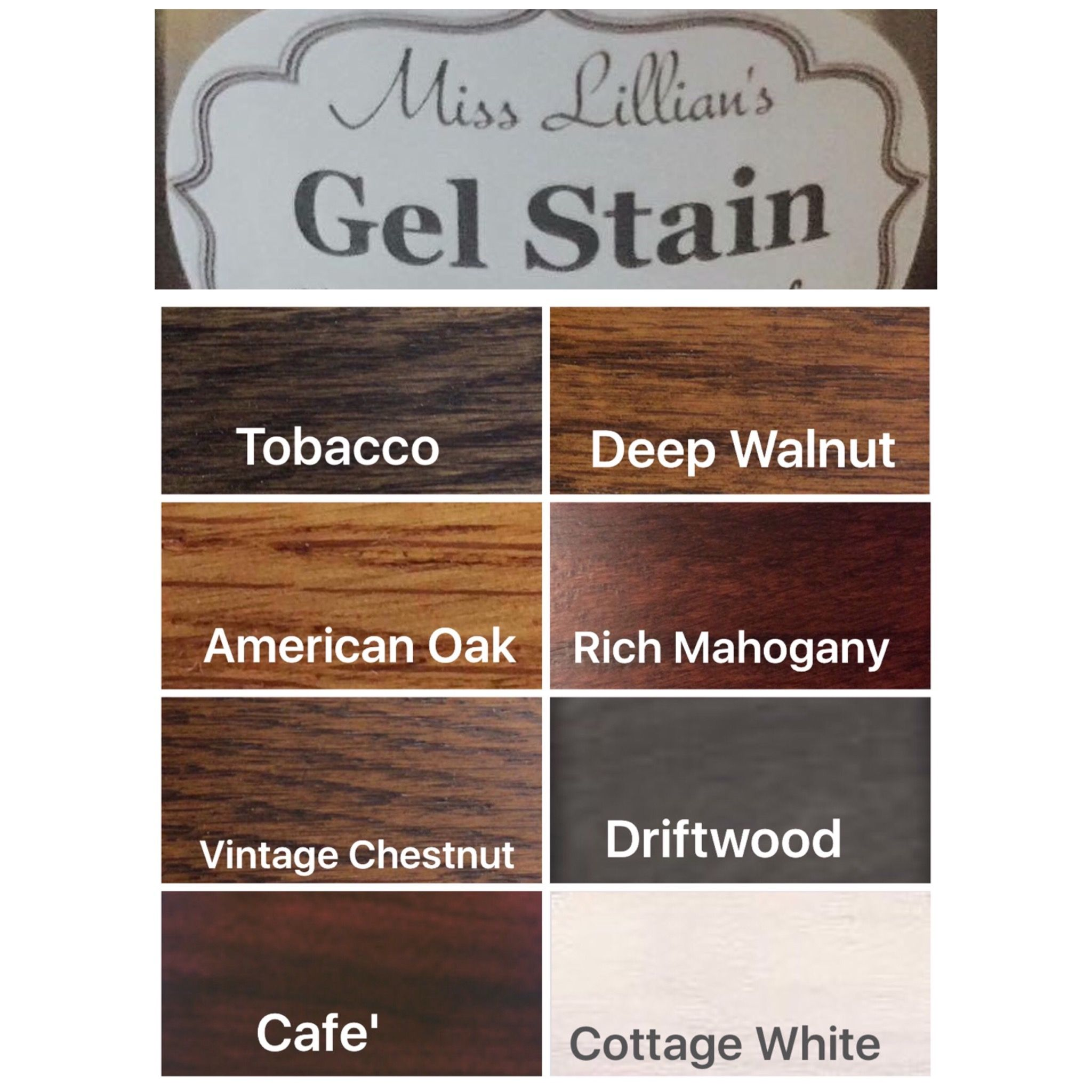 Gray General Finishes Gel Stain Colors Miss Lillian S Gel Stain Miss Lillian S No Wax Chock Paint Gel Stain Gel Stain Furniture Gel Stain Kitchen Cabinets