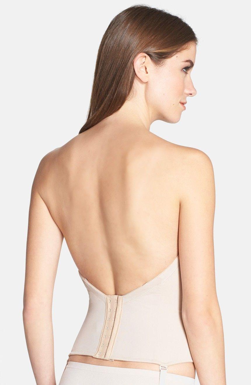 Elegant Low Back Strapless Bra For Wedding Dress Check More At Http Svesty Com Low Back Strapless Bra For We Brautkleid Unterwasche Bustiers Tiefer Rucken Bh [ 1318 x 860 Pixel ]