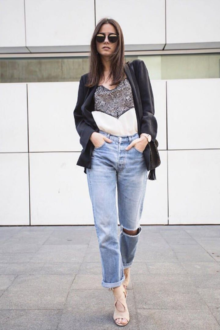 37 Ways to Wear Boyfriend Jeans That You Haven't Thought of Yet