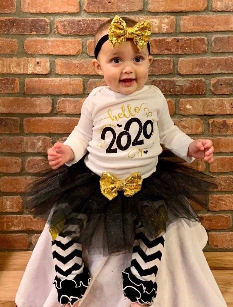 Pin by Lesa Yates on New Years Baby girl tutu outfits