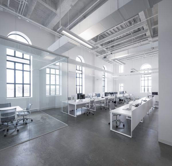 A New Office For BLUE Communications That Perfectly Captures Their Spirit