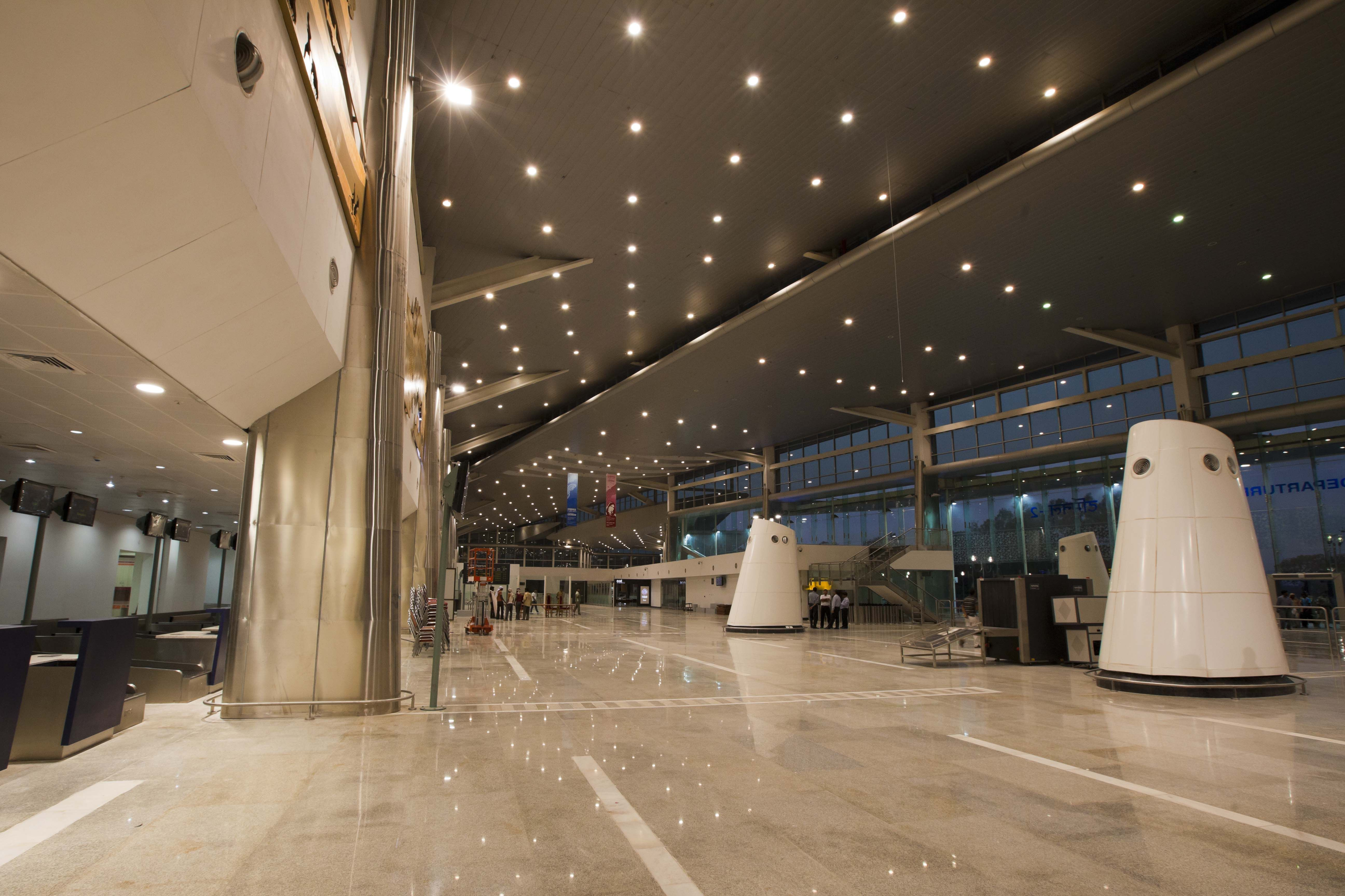 Architecture and interior design projects in India - New Terminal .