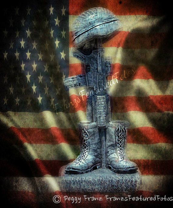 Fallen Soldiers Memorial Military Photo By