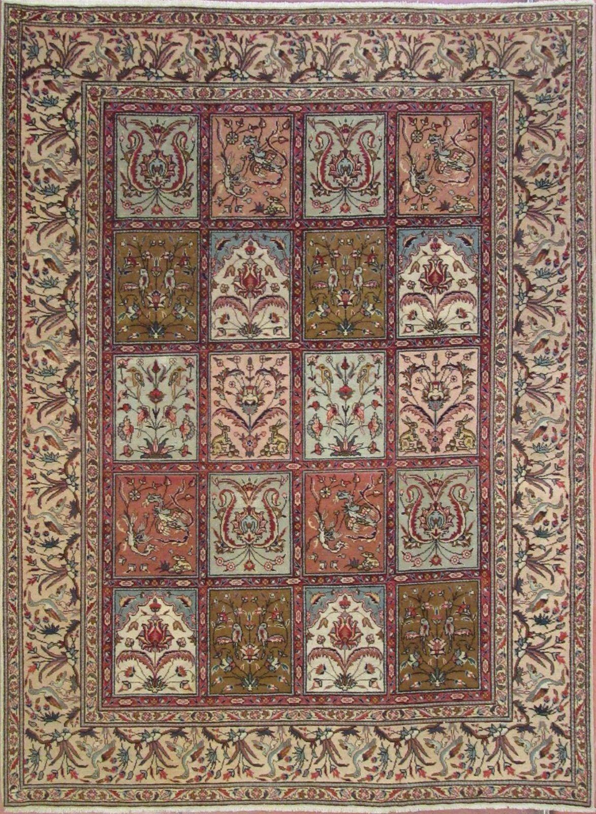 N.356732 – TABRIZ – 257 x 193 cm. – Tappeti Orientali e Moderni ...