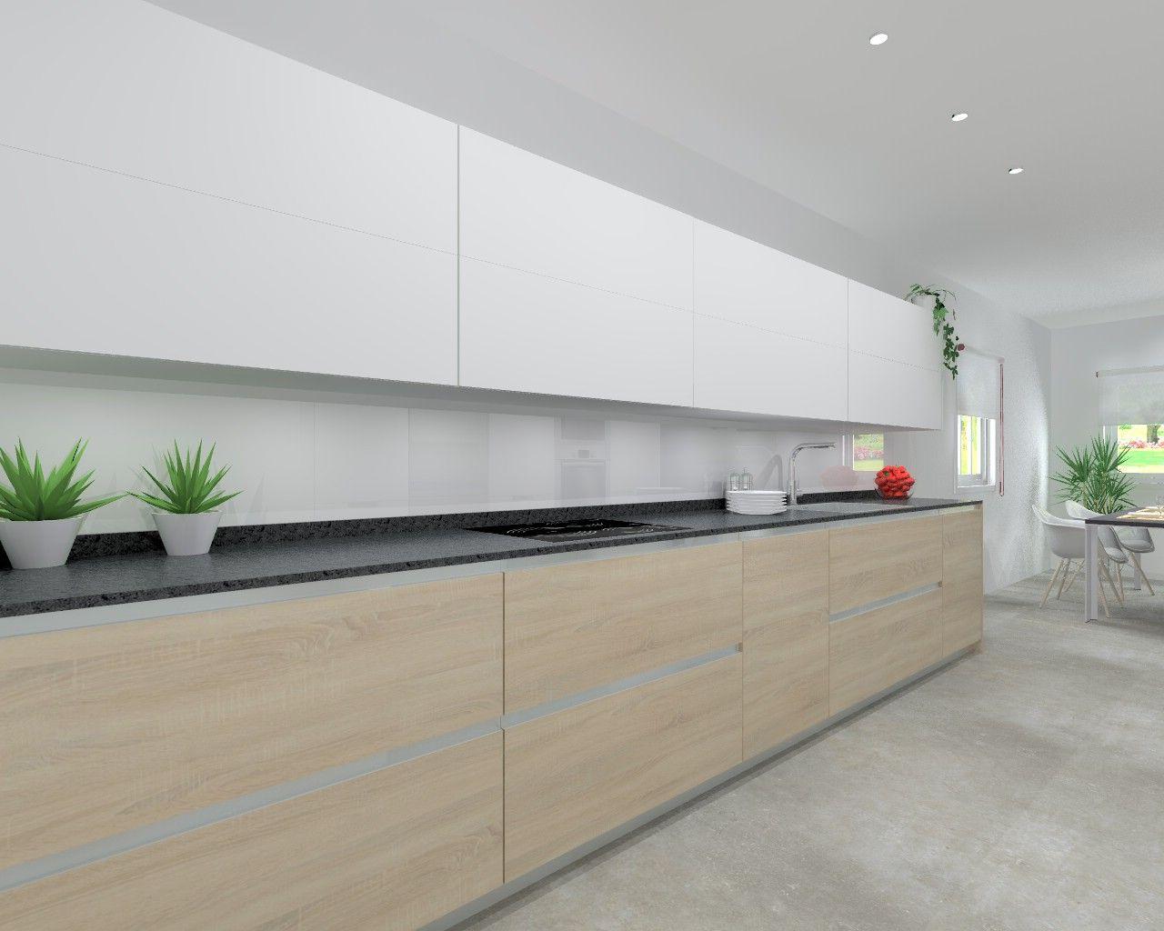 Modelo Minos L Encimera De Granito Cocinas Pinterest  # Muebles Cocinas Soinco
