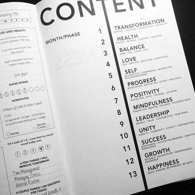 Image result for table of contents design idea | TOC ...