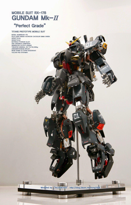 GUNDAM GUY PG 1/60 RX178 Gundam MkII Titan Ver. 'Open