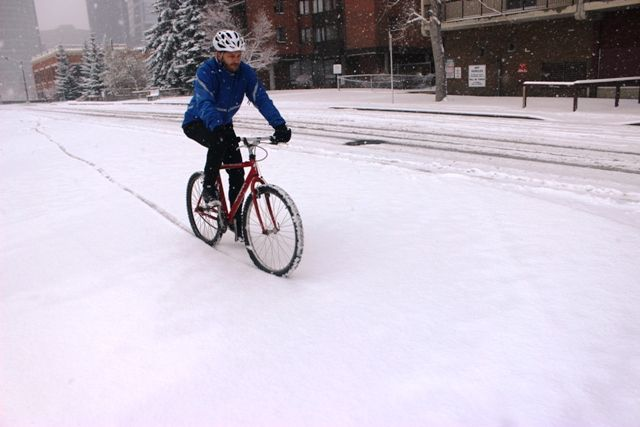 The nine best and worst types of snow for winter cycling