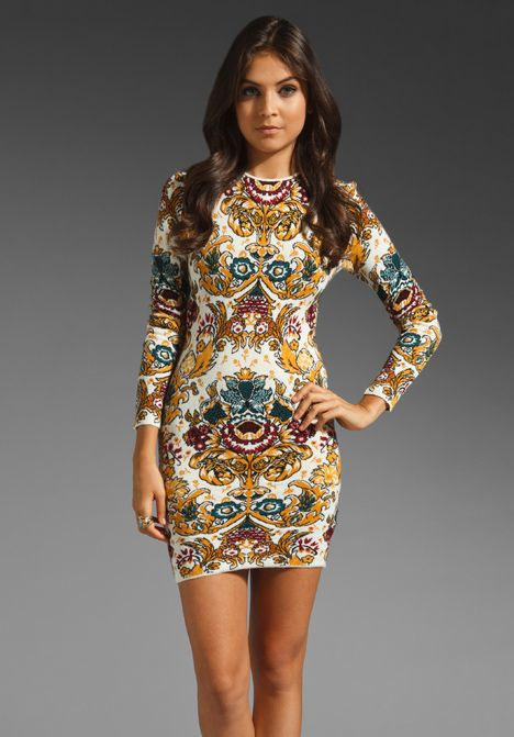 Torn by ronny kobo gold lace sleeveless dress