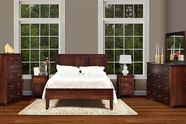 The Amish Home Hardwood Furniture At The Mall At Pittsburgh Mills Furniture Amish Furniture Bedroom Bedroom Set