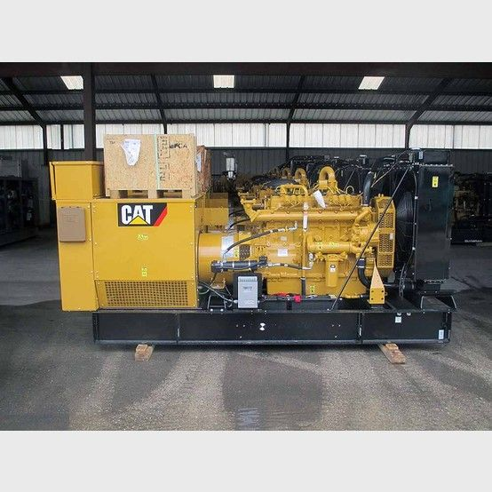 Caterpillar 150 kW Natural GasGenerator.  New/unused.  Serial no: CBP00878KW150.  277/480V. 3 phase.  60 Hz.   233 hp @ 1800 rpm.          Please contact us for more...