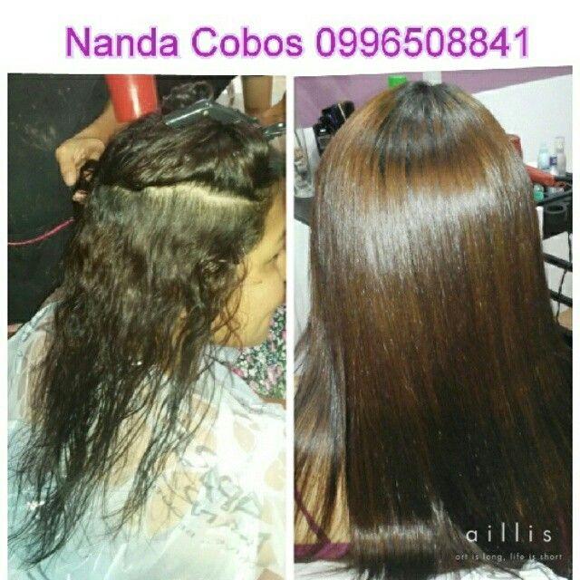 Antes Y Despues Tratamiento Con Keratina Keratin Hair Treatment