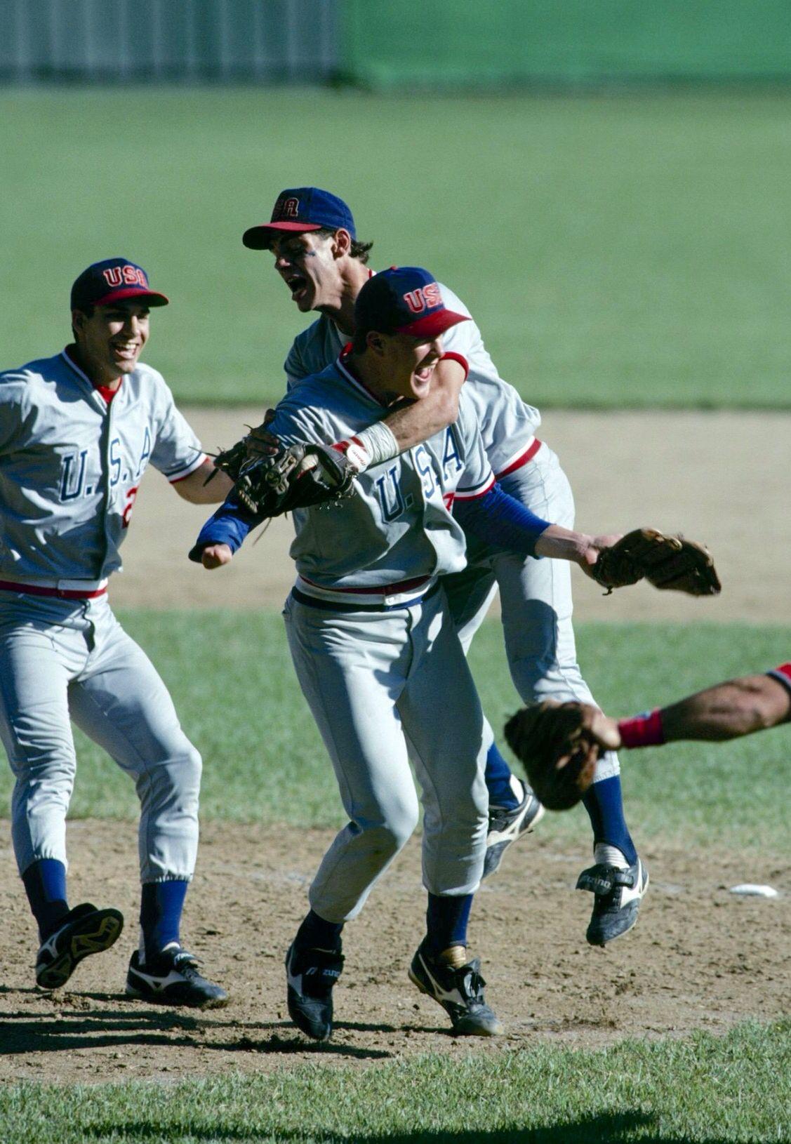 Jim Abbott 1988 Olympics Usa baseball, Baseball
