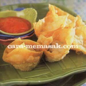 Resep Membuat Kerupuk Pangsit Resep Makanan Dan Minuman Resep Seafood