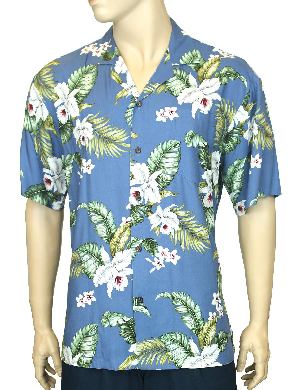 Check out the deal on Rayon Aloha Shirt Island Orchid at Shaka Time Hawaii  Clothing Store