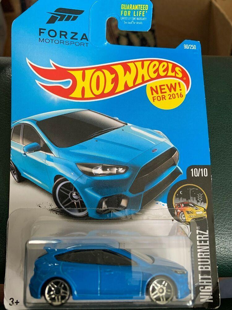 2016 Hot Wheels 2016 Ford Focus Rs Blue Car Hw Night Burnerz Forza Motorsport Ebay Ford Focus Rs Ford Focus Forza Motorsport