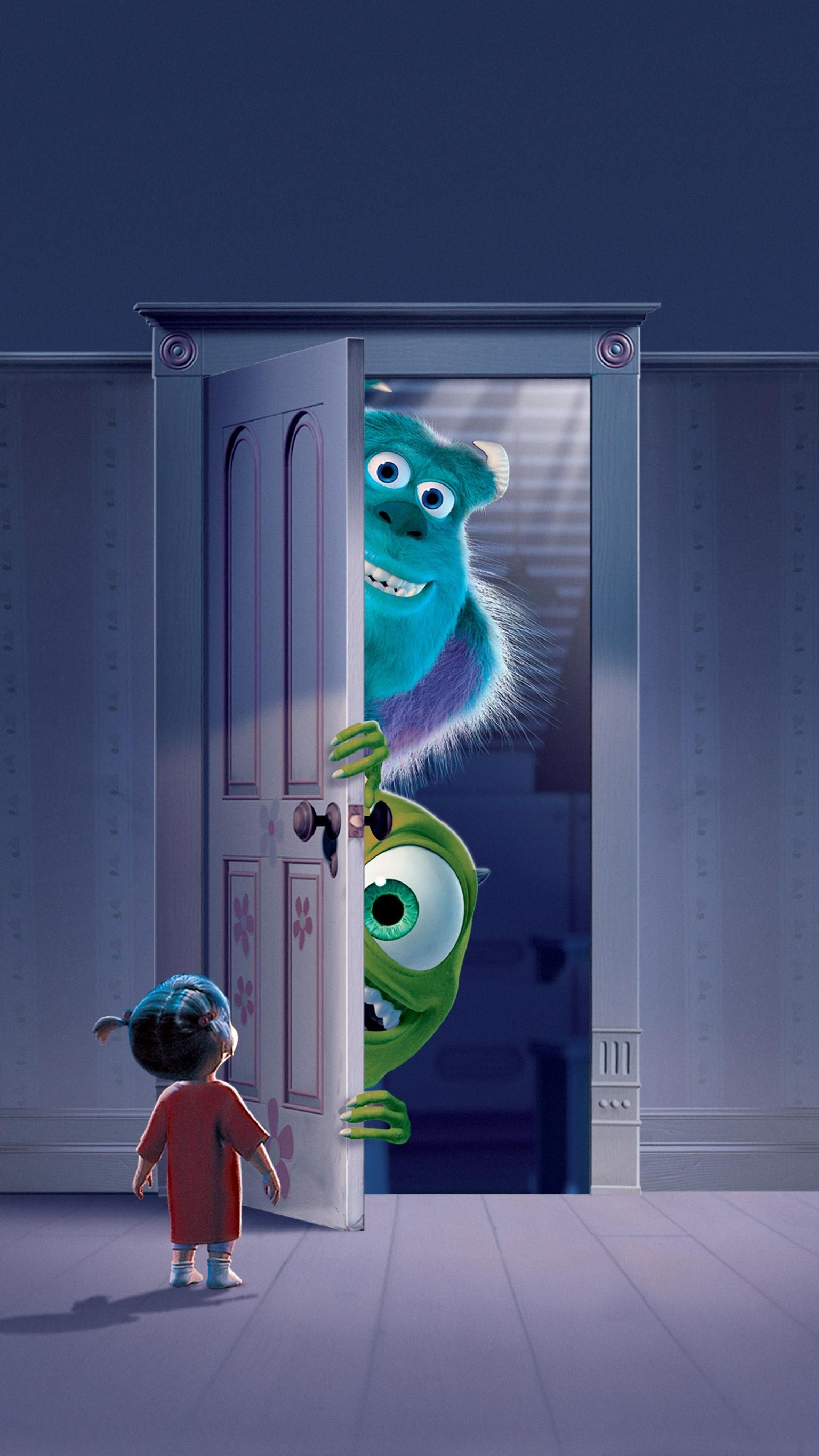 Monsters, Inc. (2001) Phone Wallpaper | Moviemania
