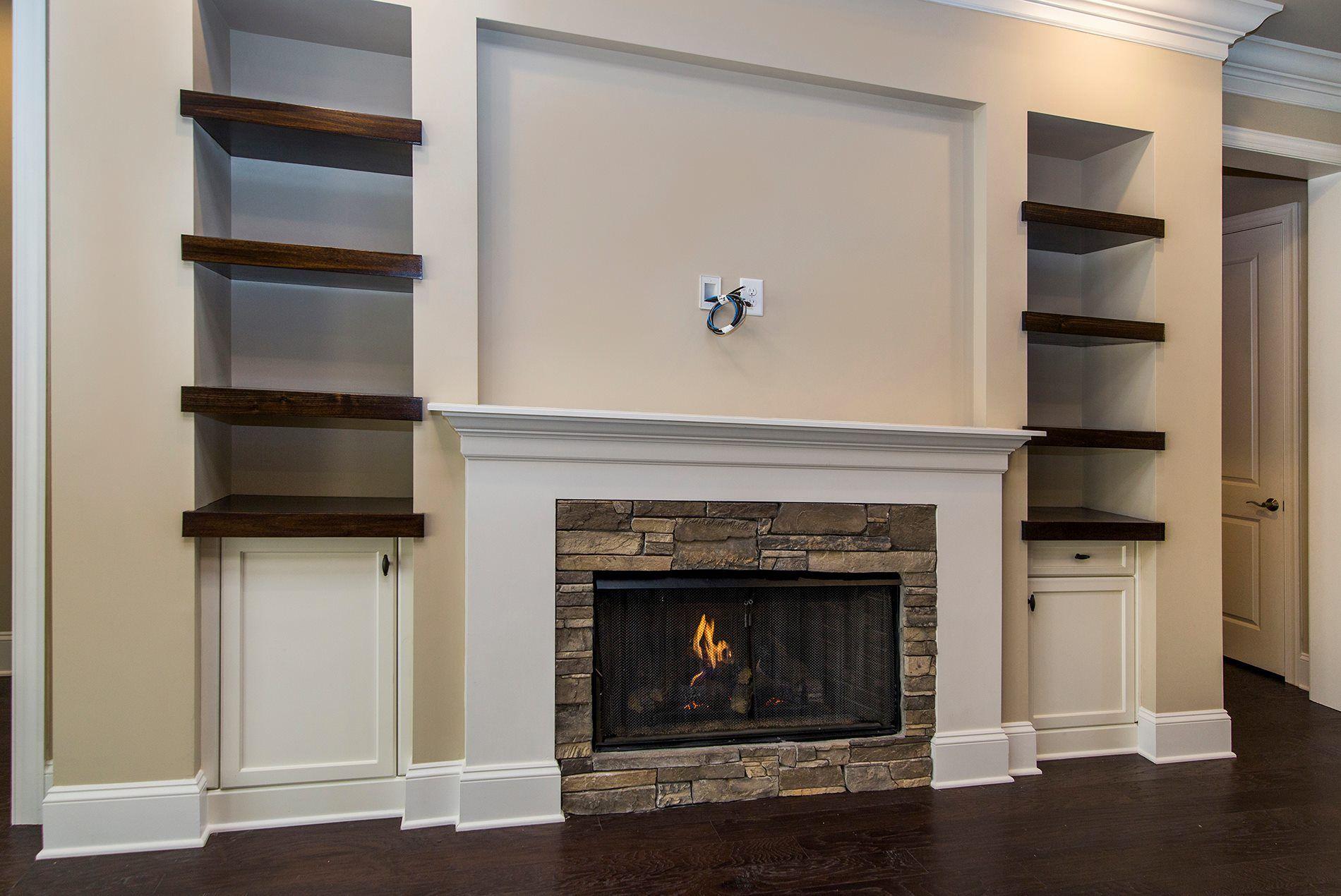 Arh Plan The Riverdale Great Room Custom Fireplace Arthur