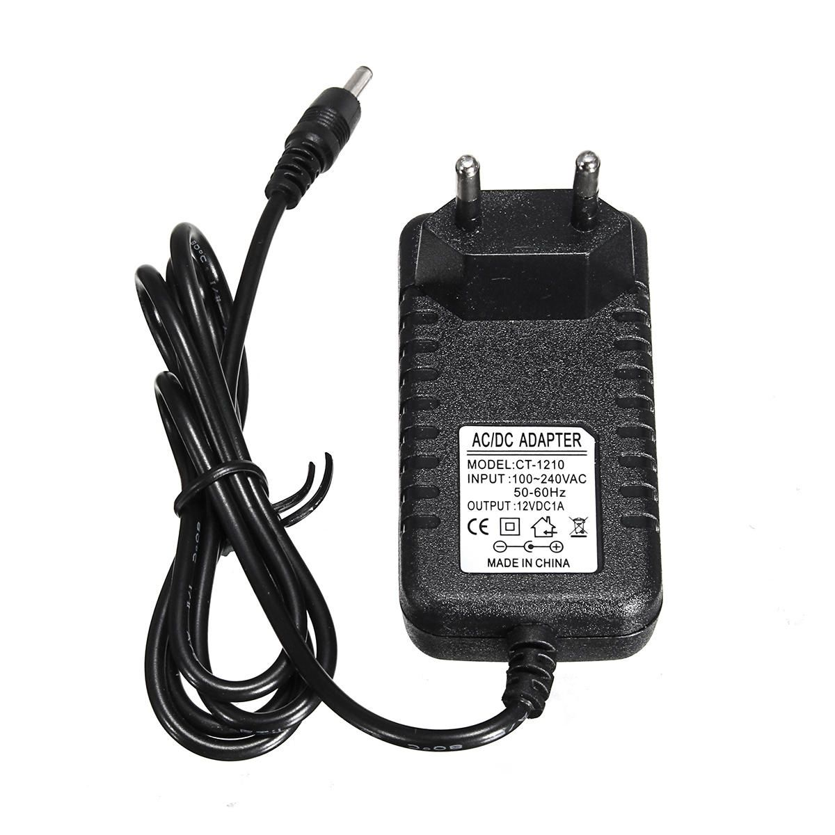 Ac 100v 240v Power Supply Charger Eu Plug Power Supply Adapter 1 35 3 5mm Dc Head Electrical Equipment Supplies From Industrial Scientific On Banggood Com Power Supply Charger Wireless Router