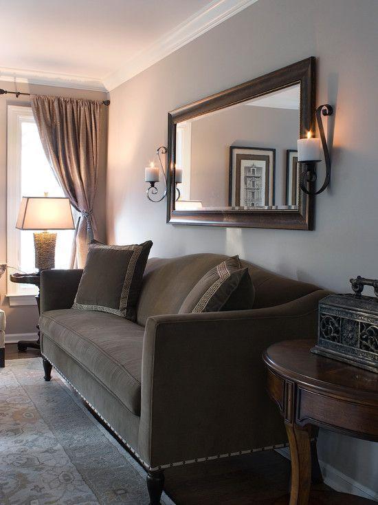 Espejos decorativos para salas sal n espejos en la for Espejos rectangulares para sala