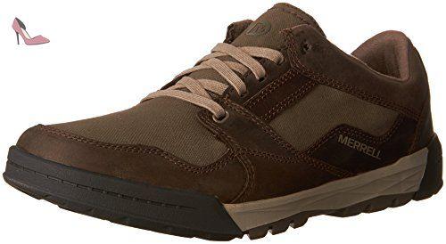 Merrell Rant Lace, Sneakers Basses Homme, Vert - Grün (Dark Olive), 43