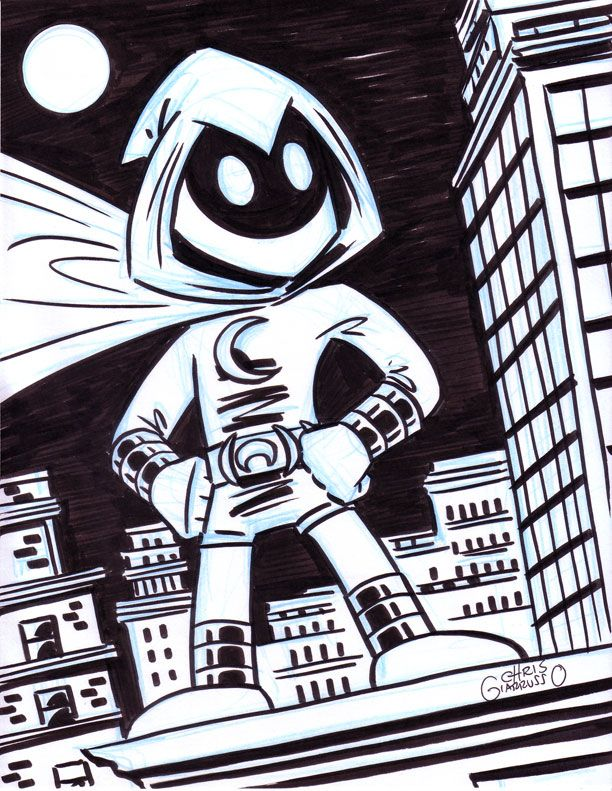 Moon Knight By Chris G