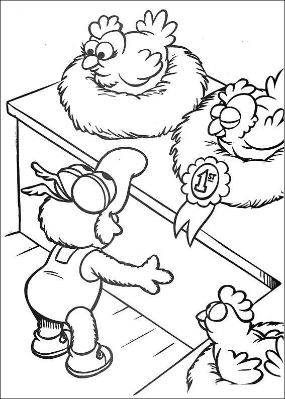 Desenhos para pintar Muppets 46 | Desenhos para Colorir | Pinterest ...