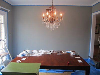 Our Bedroom Paint Color Valspar Wet Pavement