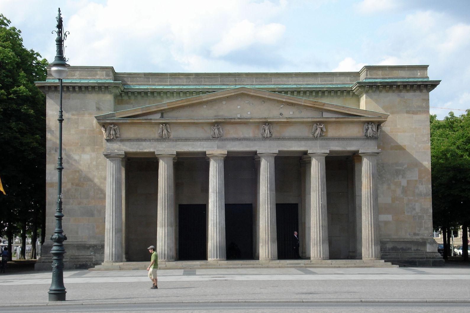19th Century Neo Classicism Germany Karl Friedrich Schinkel 1781 1841 Neue Wache 1815 Berlin Arquitectura Clasica Arquitectura