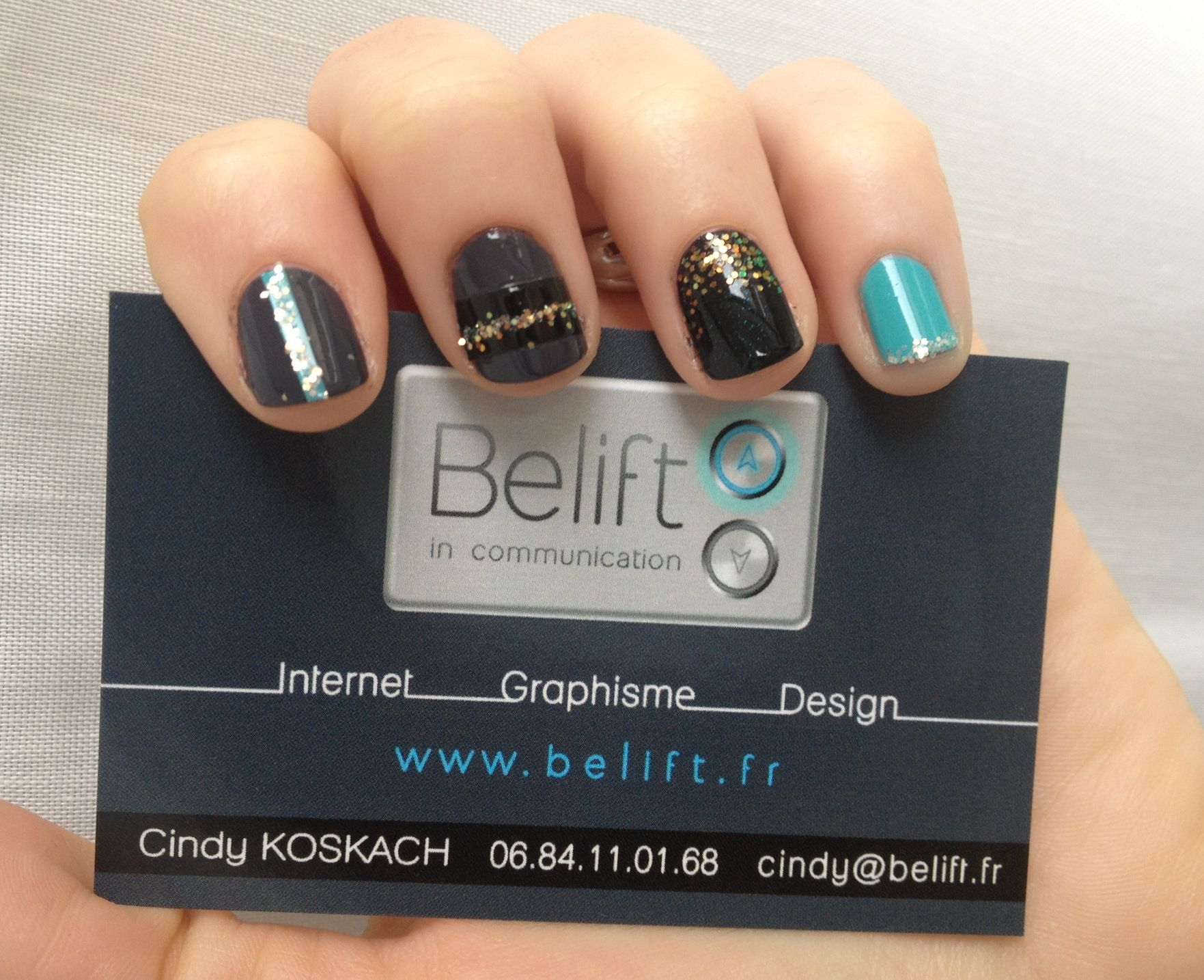 Nails Match Business Cards Beliftfr