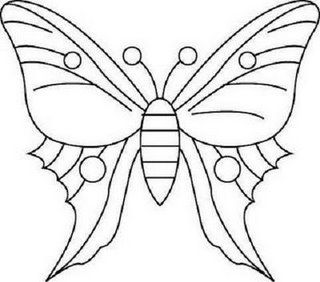 Riscos De Borboletas With Images Butterfly Coloring Page
