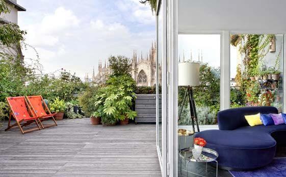 Casa con terrazzo con vista sul Duomo | Great houses and places ...