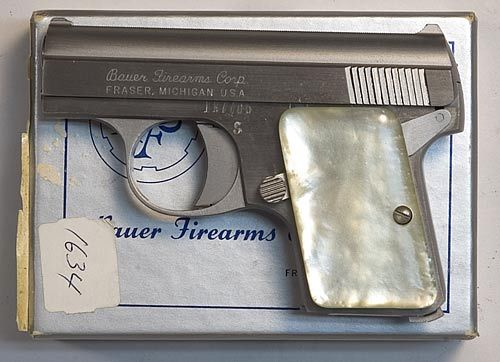 Bauer Firearms Corp Bauer Automatic 25 Acp Pistol Lnib Baby