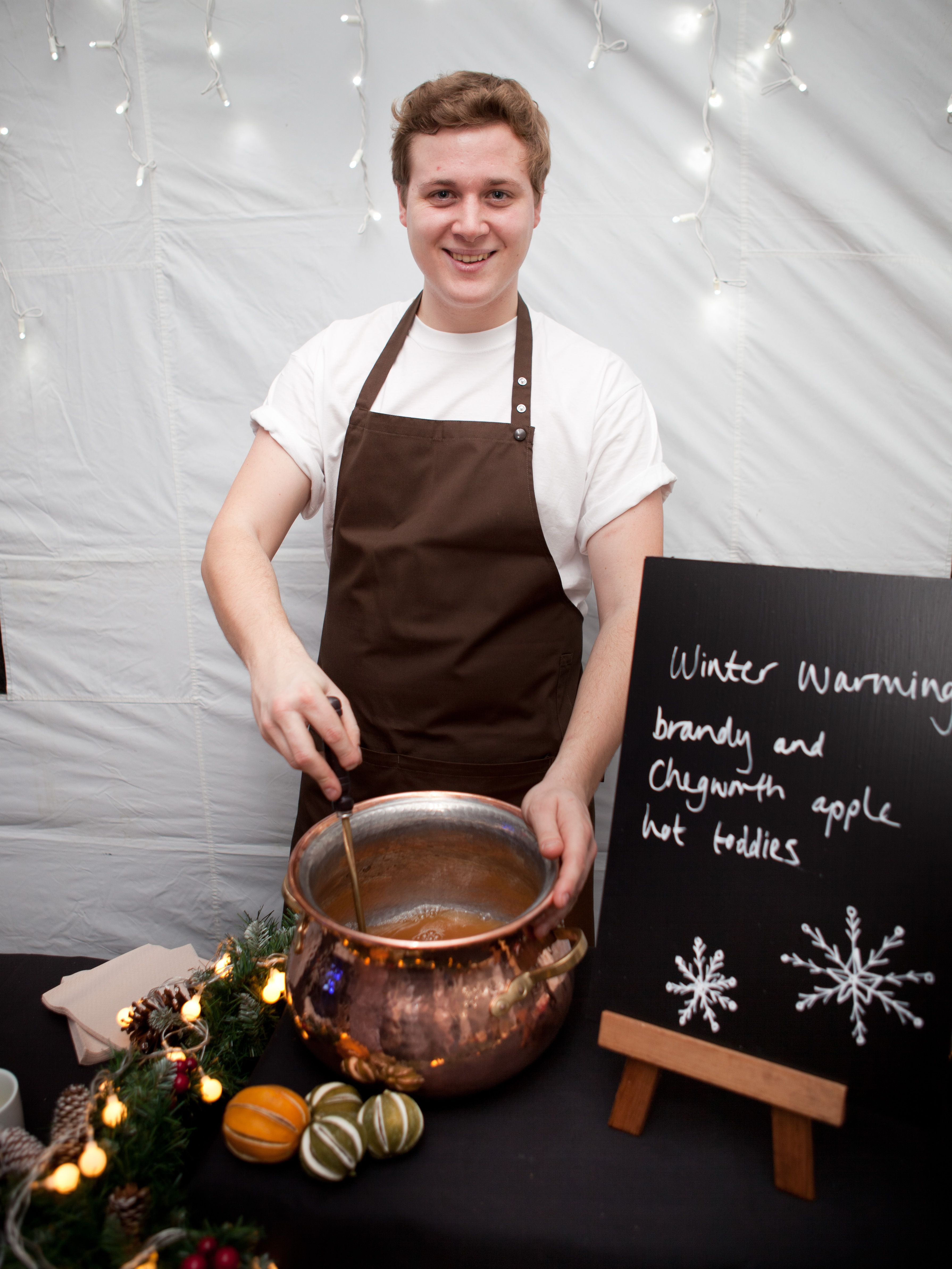 Warm up with out mulled cider...