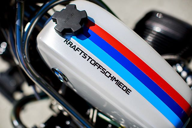 The rise and rise ofeighth milesprint racing in Europe has proved a real goldmine for those of us interested in custom drag bikes. Shops from all across Germany, Switzerland, France and Italy are now feverishly building bigger and better bikes whiledrafting increasingly skilled riders to see if they can't make it to the top of this new league. One such hive of speed is South German...