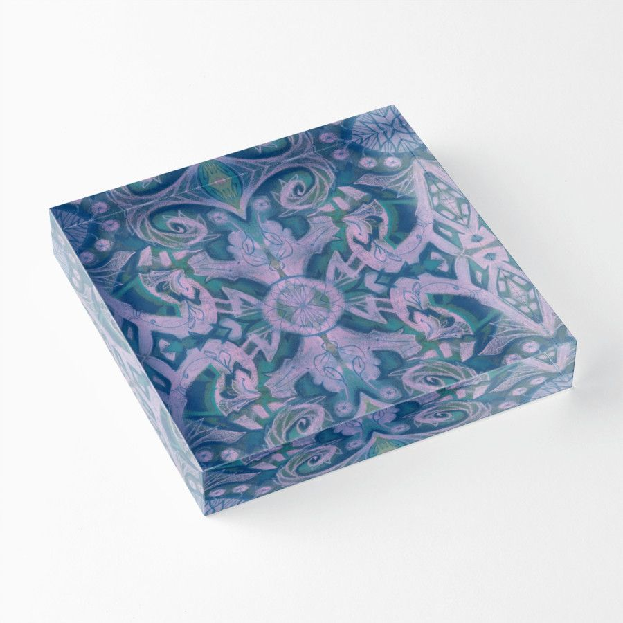 """Summer Twilight "" Acrylic Blocks by clipsocallipso 