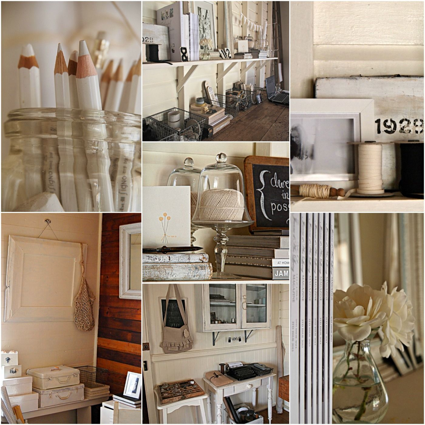 my atelier today life in my little railway cottage pinterest atelier vintage. Black Bedroom Furniture Sets. Home Design Ideas