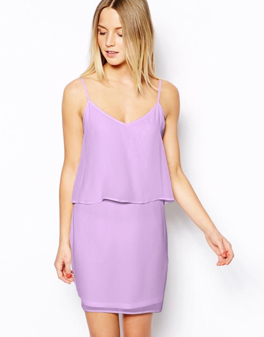 lavender dress | look | Pinterest