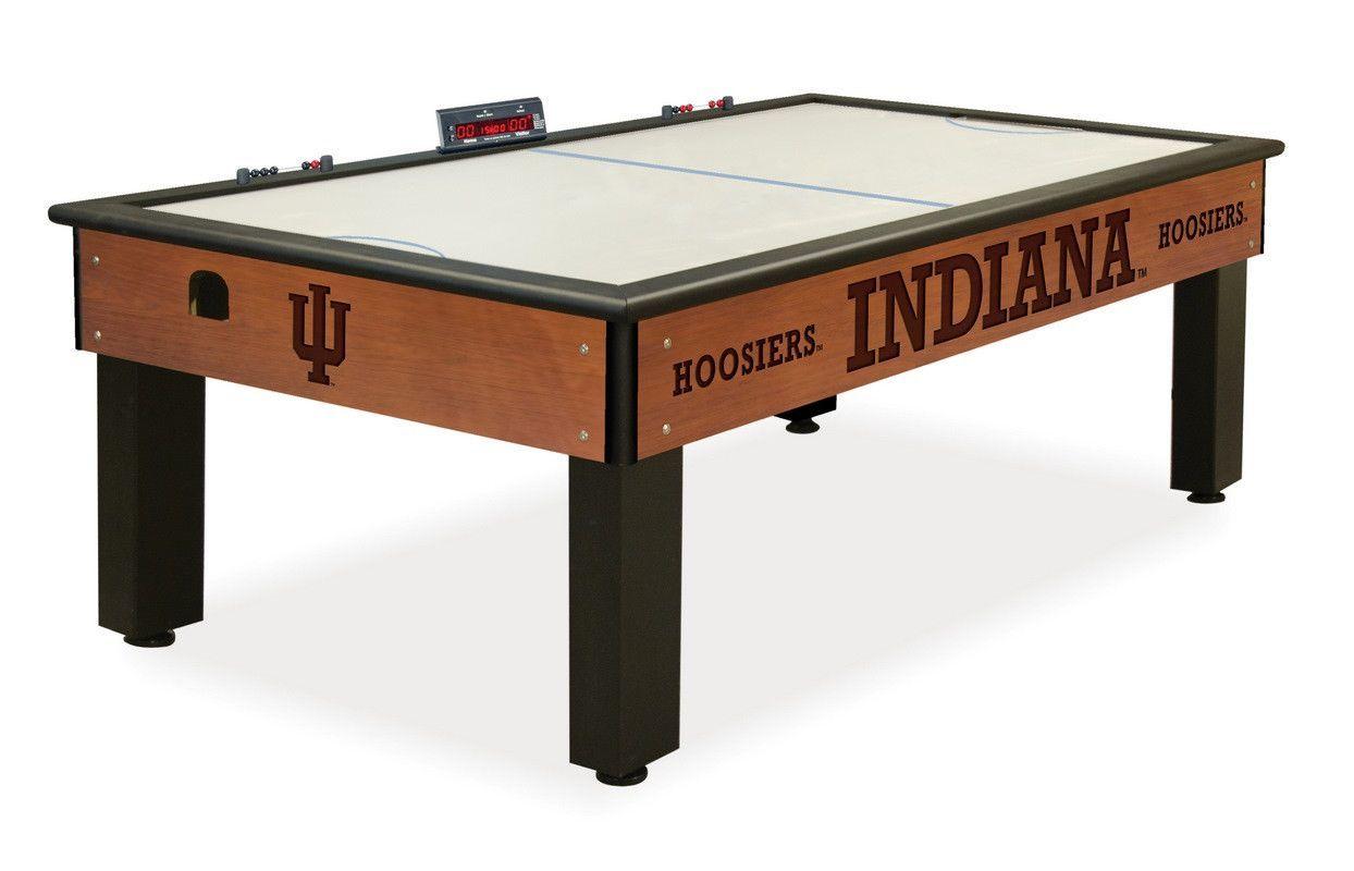 The Indiana Hoosiers Air Hockey Table Air hockey table