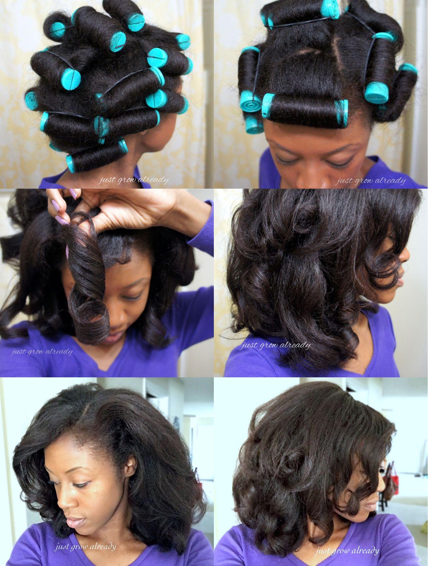 Just Grow Already Is Under Construction Natural Hair Styles Hair Styles Flat Hair